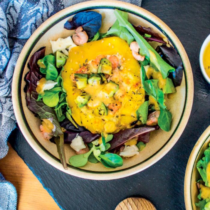 Salade marinée fruitée
